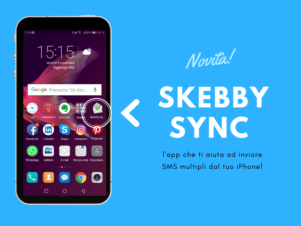 Invio SMS Multipli da iPhone con Skebby Sync per iOS!