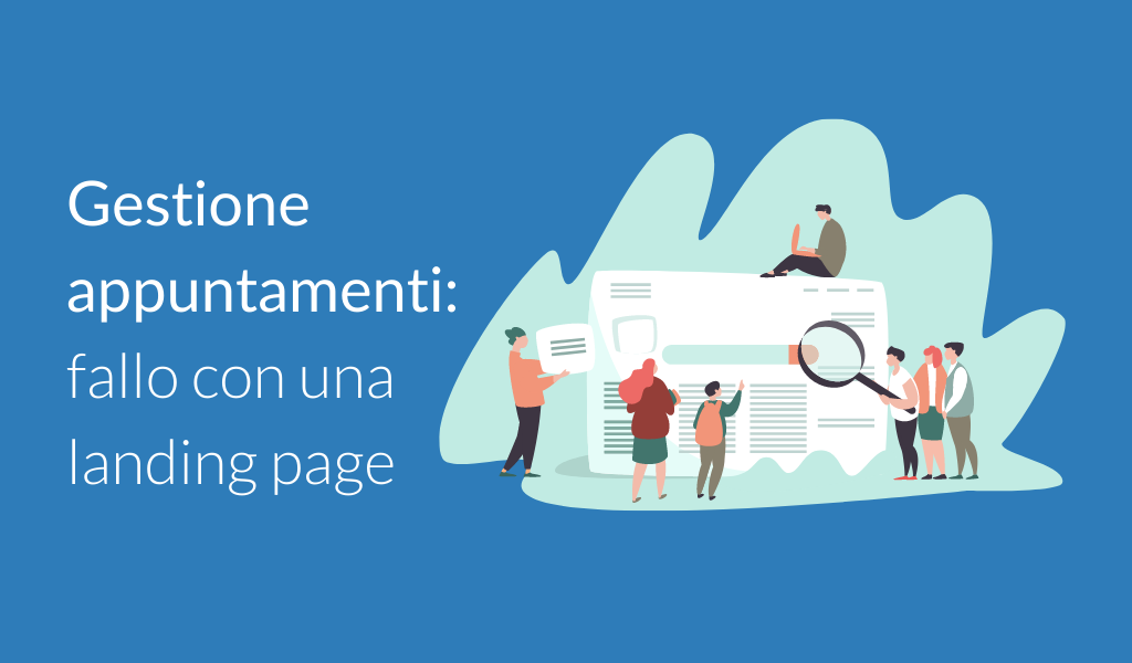 Creare landing page per gestire appuntamenti [VIDEO]